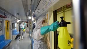 Desinfección Coronavirus en areas de paso